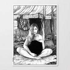 asc 671 - Le non-globe (Found in the desert) Canvas Print
