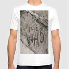 The Who Mens Fitted Tee White MEDIUM