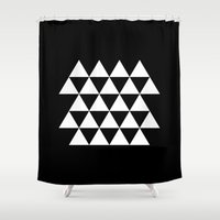 lions Shower Curtains featuring Many lions by Designy