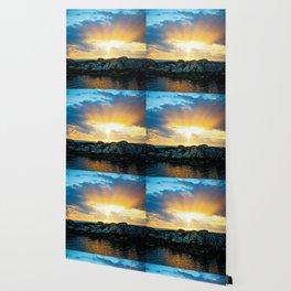 Burst of Light Wallpaper