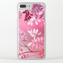 Interleaf - LGBT colours Clear iPhone Case