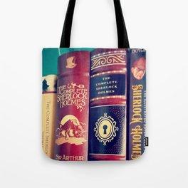 Library of Sherlock Holmes Tote Bag