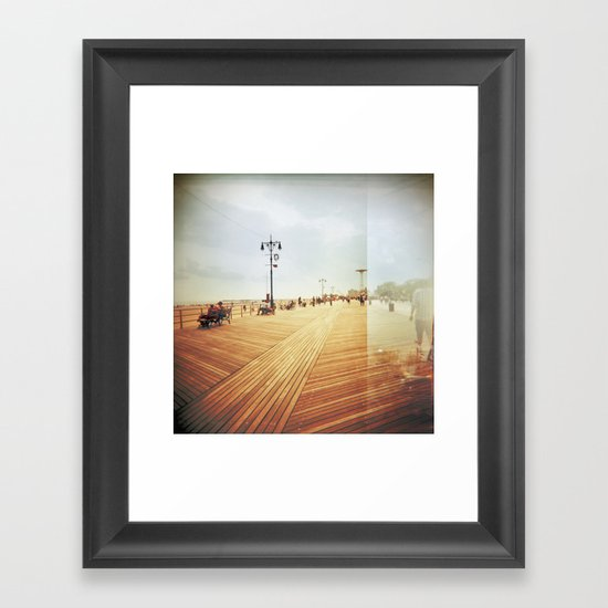 Coney Island #3 Framed Art Print