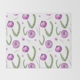 Rosemary & Onion Throw Blanket