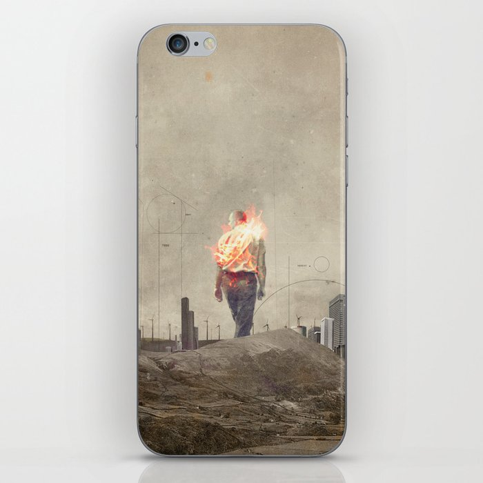 These cities burned my soul iPhone Skin