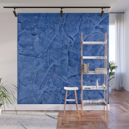 Beautiful Vibrant Light Blue Plaster #society6 #bluedecor #blue | Corbin Henry Wall Mural