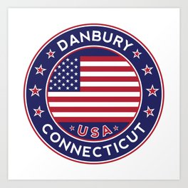 Connecticut, Danbury Art Print