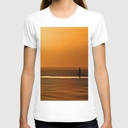 Gormley Iron Man (Digital Art) T-shirt