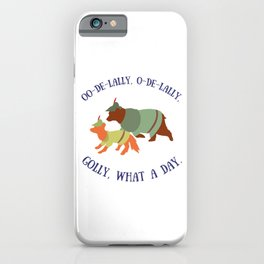 Robin Hood and Little John iPhone Case