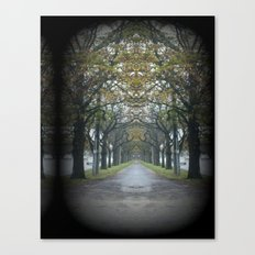 Nature's guard of Honour Canvas Print