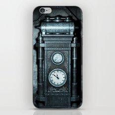 Silver Steampunk Generator Machine iPhone & iPod Skin