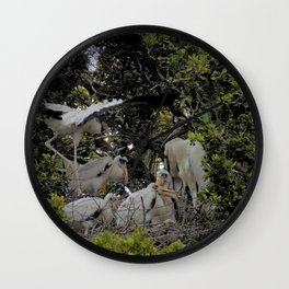 The Rookery Wall Clock