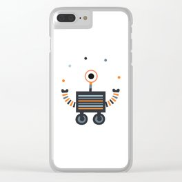 juggler robot Clear iPhone Case