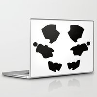 rorschach Laptop & iPad Skins featuring Rorschach by Okes