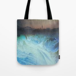 "Mixed Media, ""A World Alone"" 2014 Tote Bag"