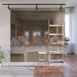 "Leonardo da Vinci ""The last supper"" Wall Mural"