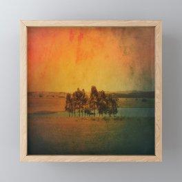 Solitude Colors Framed Mini Art Print