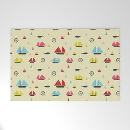 Boats Welcome Mat