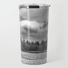 Frozen Lake Panorama Travel Mug
