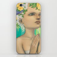virgo iPhone & iPod Skins featuring Virgo by Artist Andrea