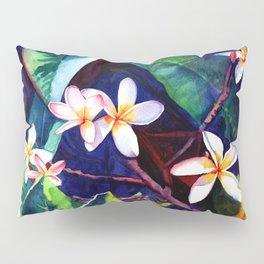 Blooming Plumeria Pillow Sham