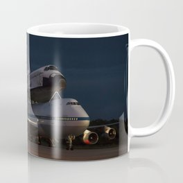 1823. Endeavour Ferried By SCA At KSC Coffee Mug