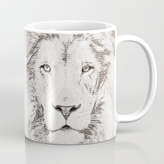 The Intellectual Lion Mug