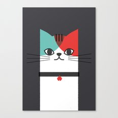 A Cat! Canvas Print