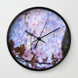 Spring is blossom Wall Clock