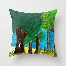 home! Throw Pillow