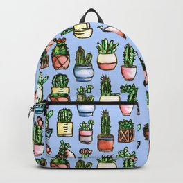 Potted Cacti - Watercolour Backpack
