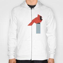Origami Cardinal Hoody