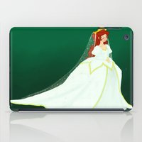 ariel iPad Cases featuring Ariel by Delucienne Maekerr