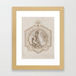 D-Day Paratrooper Art Print Framed Art Print