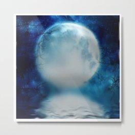 the moon Metal Print