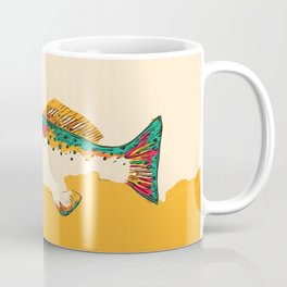 Speckled Trout Pop Art Coffee Mug