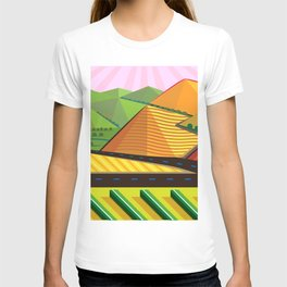 Valle de Guadelupe Wine Label T-shirt