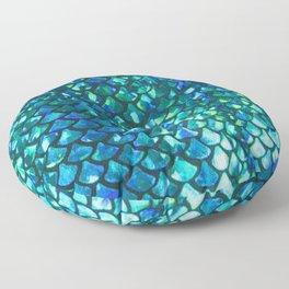 Mermaid Scales Floor Pillow