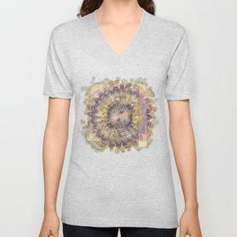 Consuetudinal Daydream Flowers  ID:16165-022110-37471 Unisex V-Neck