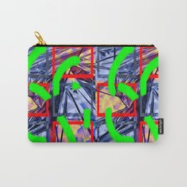 Collage with Mylar effect Carry-All Pouch