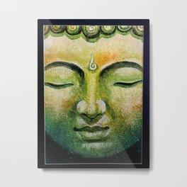 Lord Gautama Buddha Face Metal Print