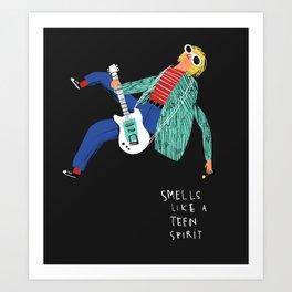 LIKE A TEEN SPIRIT Art Print