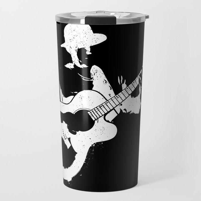 Musician playing Travel Mug