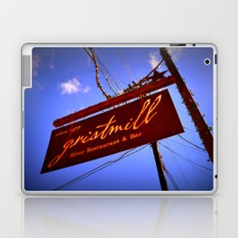Gristmill Sign Laptop & iPad Skin