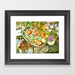 Beans & Co Framed Art Print