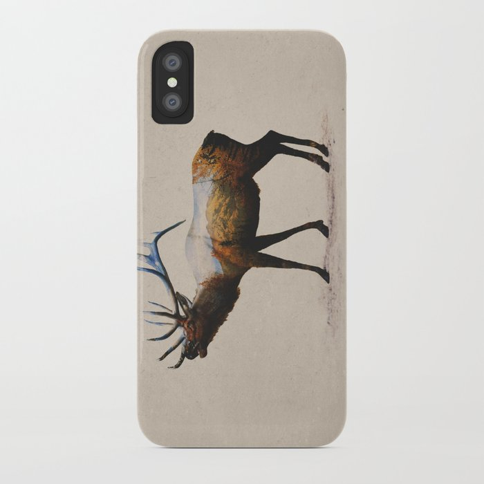 The Rocky Mountain Elk iPhone Case