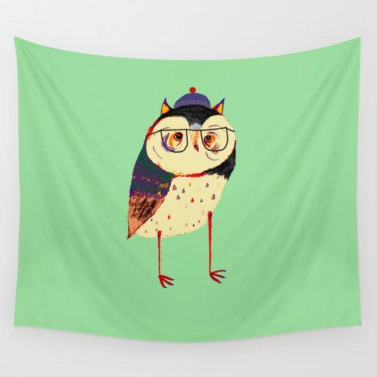 Owl Cutey. Wall Tapestry