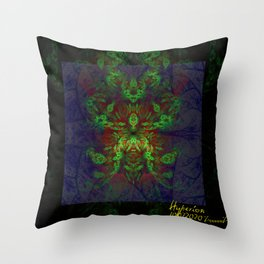 ZoooooZ - Hot Colour Art,  Hyperion Throw Pillow