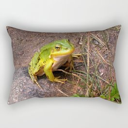 Froggy  Rectangular Pillow