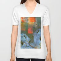 sia V-neck T-shirts featuring A new start by Ganech joe